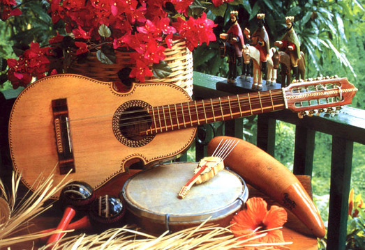 What Better Way To Unite People Under One Same Culture Than Through Music The Cuatro Is Typical Instrument In Puerto Rico Its Features Resemble Those